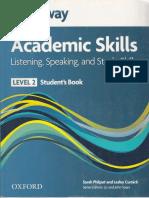 Headway Academic Skills- Listening-Speaking and Skills Level 2-SB