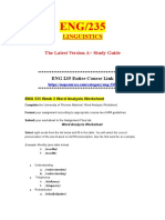 ENG 235 Week 4 Synonym and Antonym Worksheet.doc
