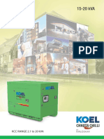 KOEL Chhota Chilli Gensets - 15 kVA - 20 kVA Portable Diesel Genset