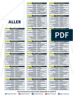 1718 Ligue 1 Conforama Calendrier