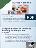 Penyebaran Narkoba