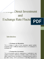 Foreign Direct Investment and Exchange Rate Fluctuations