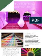 Uso Del Color en La Arquitectura