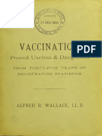 Vaccination Proved Useless and Dangerous From Forty-five Years of Registration Statistics