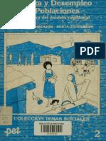 Pobreza y Desempleo en Poblaciones