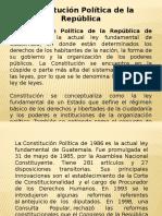 Constitución Polìtica de La República
