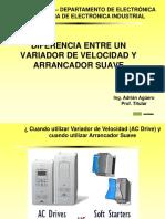 Diferencia en VFD y As