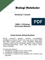 2 - Teknik Biologi Molekuler