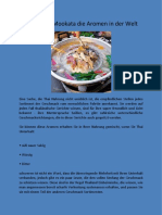 Thai Essen Mookata die Aromen in der Welt