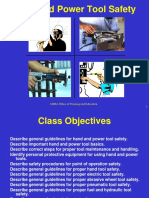 Hand and Power Tool Safety 08