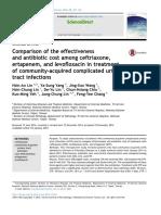 Jurnal Tugas Juga 2016 (Ceftriaxone, Ertapenem and Levofloxacin)