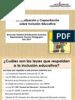 Inclusión educativa. Capacitación.pptx
