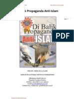 Dibalik Propaganda Anti-Islam