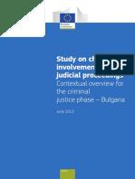 Children in Judicial Proceedings Bulgaria