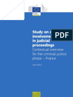 Children in Judicial Proceedings France