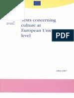 Culture in Eu