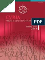 Curia Raport Anual 2014_es
