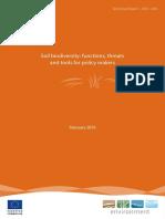 Soil Biodiversity Report