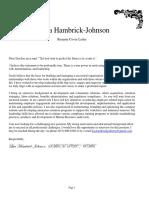 Lisa Hambrick Johnson V9 Resume 06_15_2017