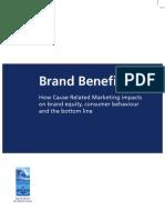 Brand Benefits Booklet