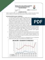 Ecuador vs Venezuela (Inflacion y PIB)