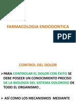 FARMACOLOGIA ENDODONTICA 2017