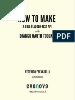 Come Creare API Rest Per Tutti i Gusti Con Django Oauth Toolkit