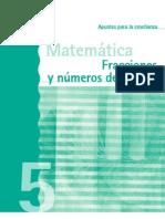 Fracciones y numeros decimales 5º docente