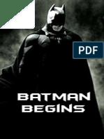 Batman Begins-Goyer David