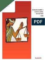 Conta Geral Do Estado Cabo Verde 2009