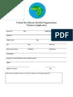 uago application