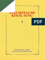 Anécdotas de Kim Il Sung