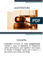 Slides III. Magistratura
