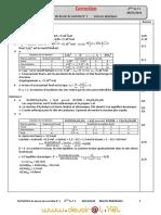 Devoir de Contrôle N°1 - Physique - Bac Technique (2010-2011) Mr Akermi Abdelkader  2