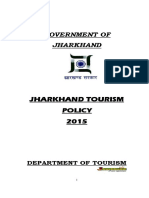 Tourism Policy 2015