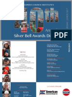 40th Annual Silver Bell Awards Dinner Journal