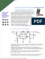 5V to 12 v Step-Up (Boost) Voltage Regulator With LM2577