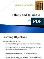 Business Ethics Chapter 1 Introduction