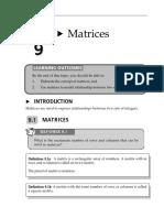 Topic 9 Matrices