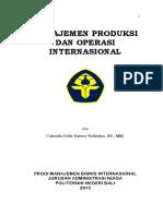 Buku Ajar Manajemen Operasi Internasional.2013