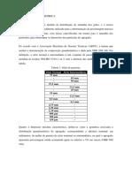 FUNDAMENTAÇÃO TEÓRICA - GRANULOMETRIA