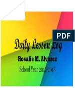 Daily Lesson Log Cover