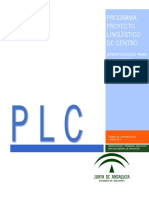 Orientaciones Programa Proyecto Lingüístico de Centro