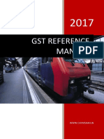 Indian GST Reference Manual