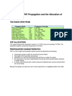 Chapter 2-Principles of VHF Propagation and the Allocation of Frequencies