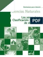 Los seres vivos. Clasificación y formas de desarrollo
