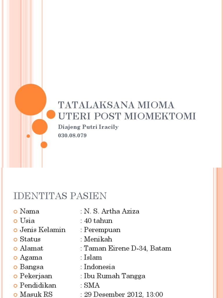 147568054 Ppt Mioma Uteri Ppt