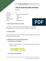 MEMORIA DESCRIPTIVA INST. SANITARIAS.docx