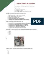 TEST - Soporte Técnico de PC y Redes