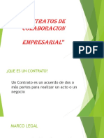 Contratos de Colaboracion Empresarial